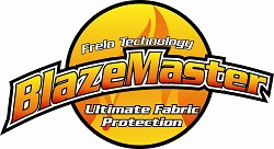 FRELO Blazemaster I and FRELO Blazemaster II - Fire Retardant for fabric