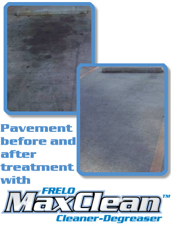 FRELO Max Clean - Environmentally safe degreaser for small or large jobs